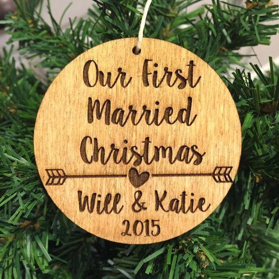 Trends First Year Married Ornament