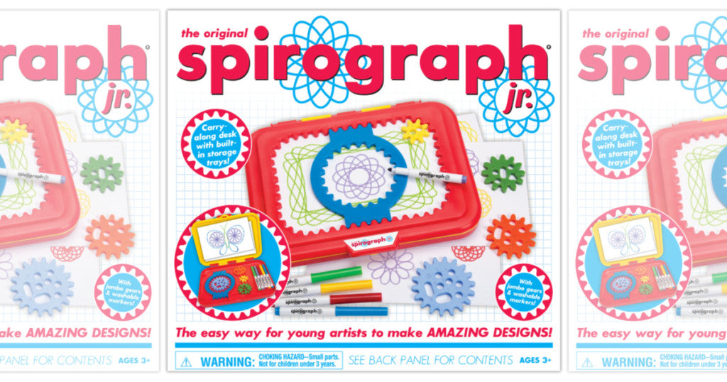 Spirograph Junior Set Only $12 (Regularly $25)