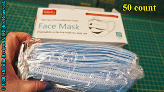 Product review: Ranto Disposable Face Mask 3 Layers Breathable Safety Masks Elastic Earloop Face Cover COVID-19