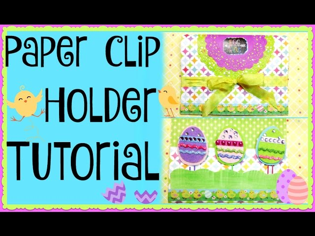 Hi everyone! In this video I'll share a quick and easy way to make cute paper clip holders, perfect for gifting to friends