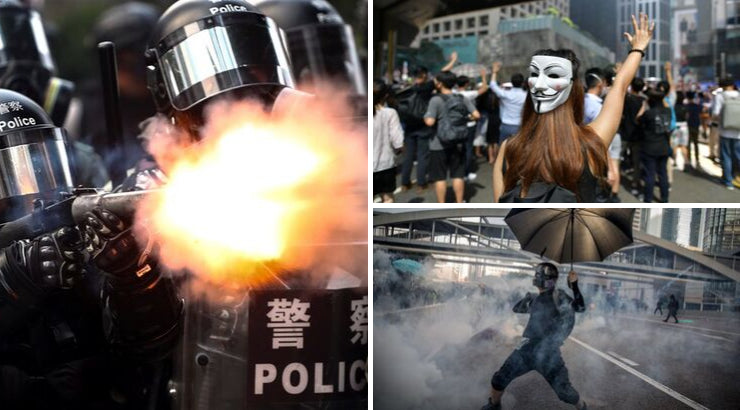 JPMorgan Banker, Cops Badly Beaten in Hong Kong as Protests Rage Over 'Anti-Mask' Law