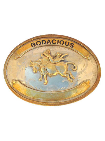 Johnson & Held Bodacious Rodeo Nickle Silver Handcrafted Belt Buckle