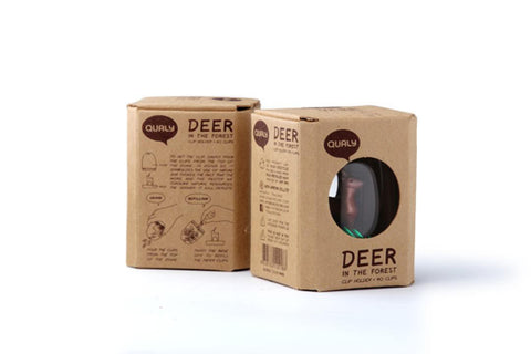 Deer in the forest - paper clips holder