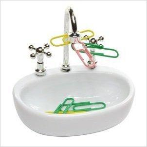 Sink Paper Clip Holder