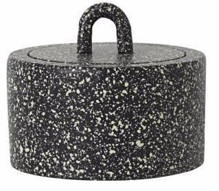 Buckle Jar in Spotted design by Ferm Living