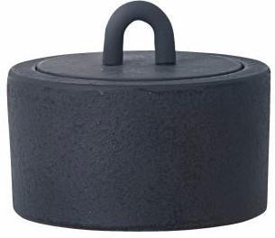Buckle Jar in Dark Blue by Ferm Living