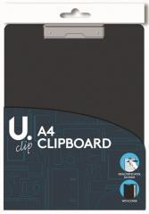 A4 Clipboard Children's School Homework Paper Clipboard Black  P2434