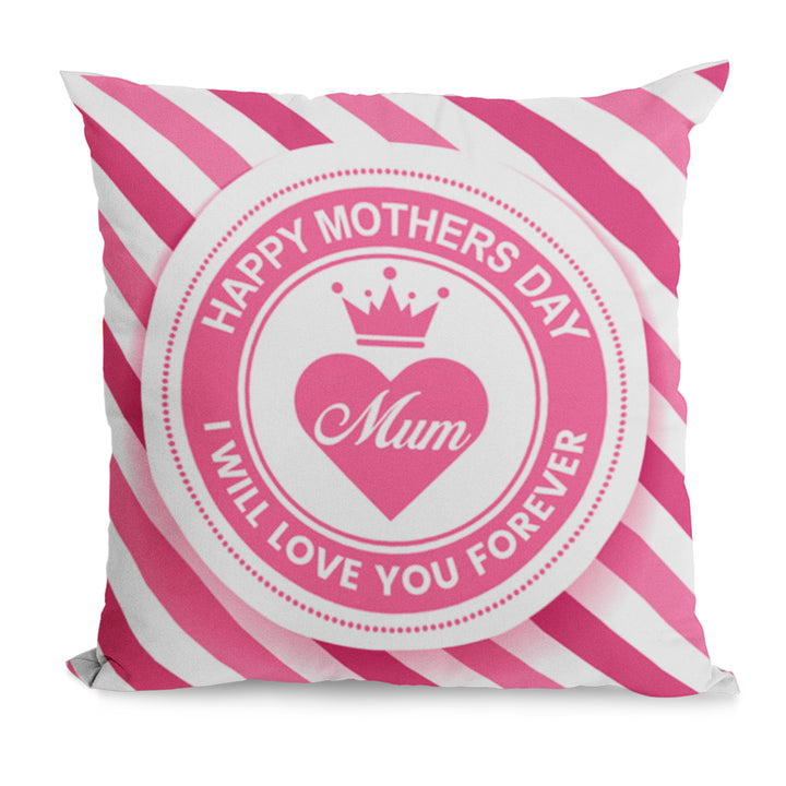 I Will Love You Forever Cushion Gift For Mothers Day From Son - Cute Gift Idea For Mum, Mummy, Mother On 31st March Or A Birthday