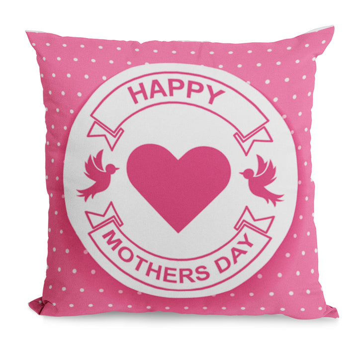 Happy Mothers Day Cushion Gift For Mother Day From Son - Cute Gift Idea For Mum, Mummy, Mother On 31st March Or A Birthday