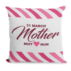 Best Mum Cushion Gift For Mothers Day From Son - Cute Gift Idea For Mum, Mummy, Mother On 31st March Or A Birthday