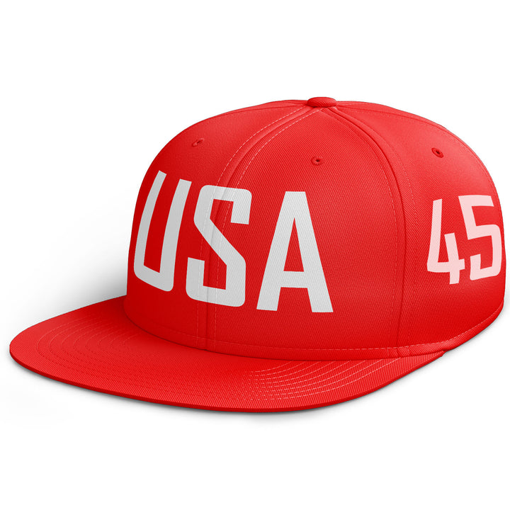 USA 45th President 45 Snapback Cap Donald Trump Make America Great Again C5