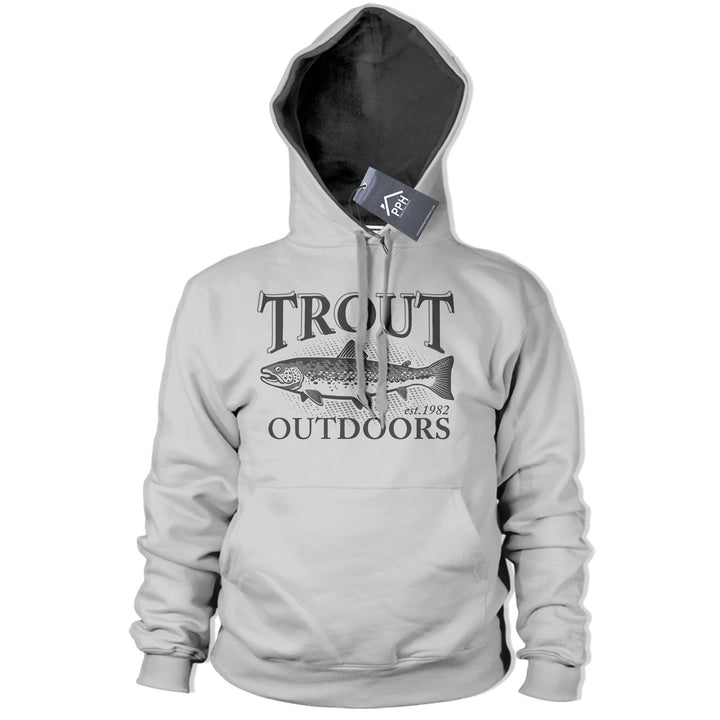 Trout Outdoors Fly Fishing Hoodie Top Fish Trip Carp Hoody Rod Bait Angling 213