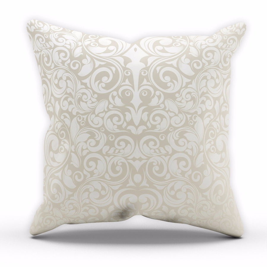 Pale Gold Cushion Abstract Wallpaper Lounge Kitchen Pillow Home Decor C20