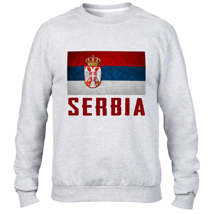Serbia and Herzegovina Mens Sweatshirt Top Womens Sweater Nation football Train