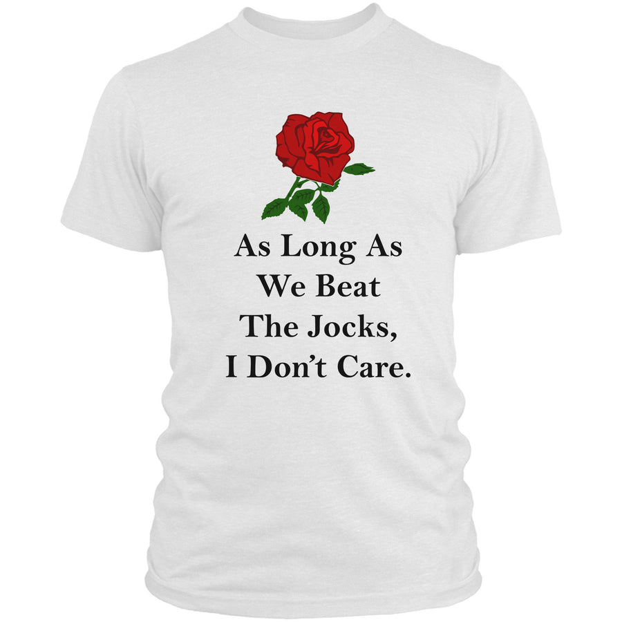 As Long We Beat The Jocks I Don't Care T Shirt England Rugby 6 Nations Men L9