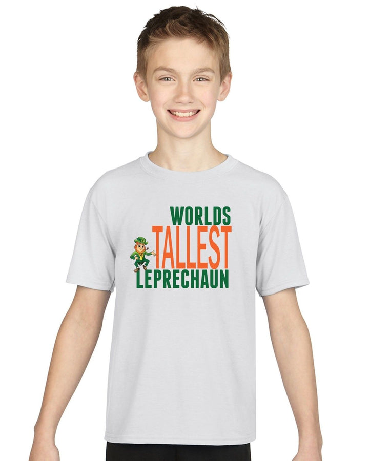 World's Tallest Leprechaun T Shirt Mens Womens Kids St Patrick's Day Short EP12
