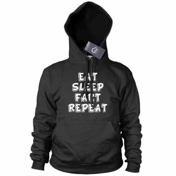 Eat Sleep FART Repeat Rude Funny HOODIE Drinking Dad Fathers Day Birthday 745