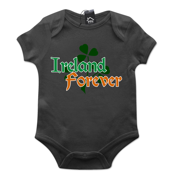 Ireland Forever Irish Ireland St Patricks Day Baby Grow Gift Babygrow Suit P15