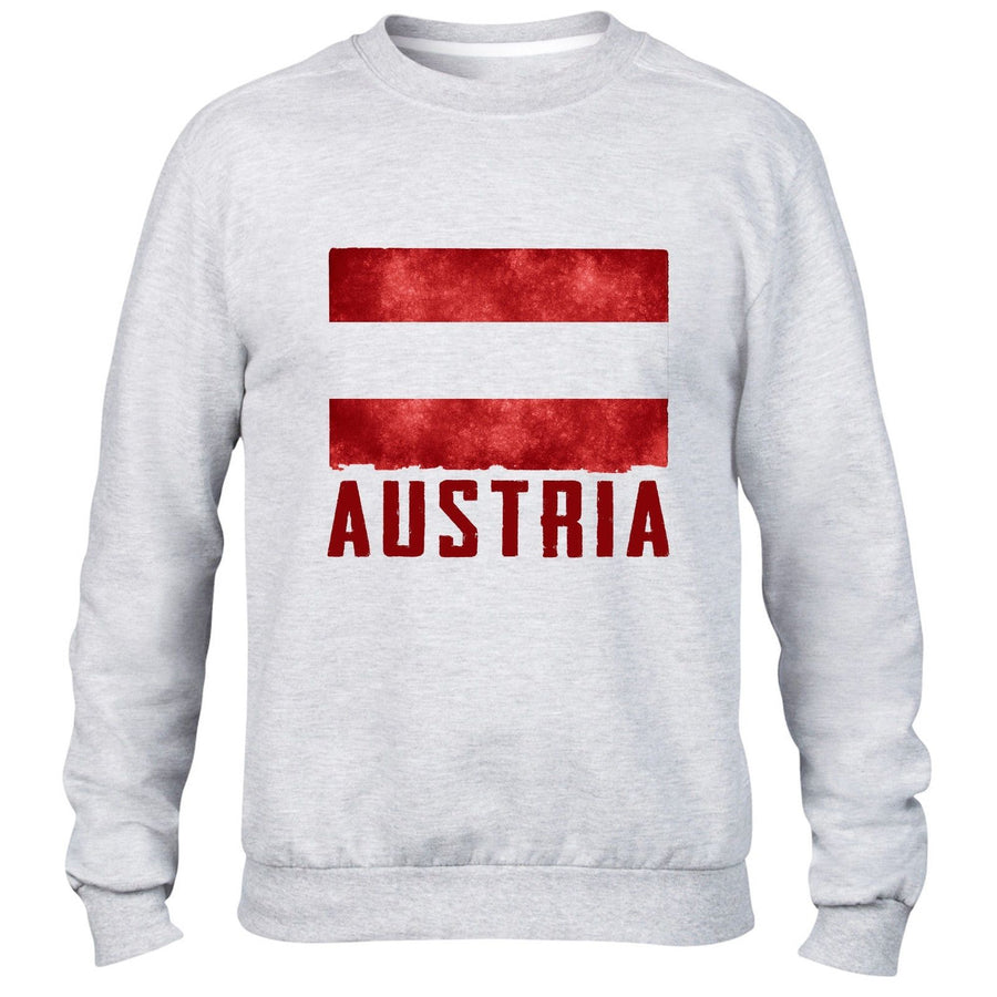 Austria Mens Womens Sweatshirt Sport Fans Football Austria Sweater Top All Sizes