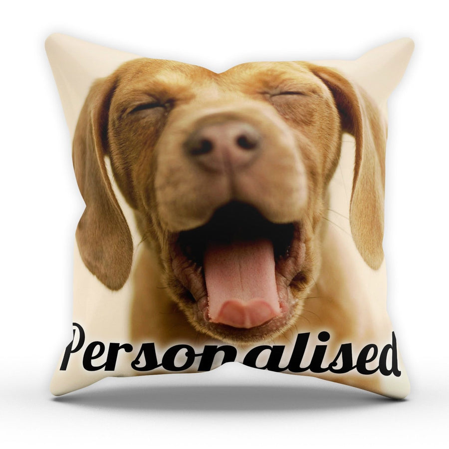 Personalised Pillow Cushion Pad Cover Case Bed Funny Birthday Gift Present New