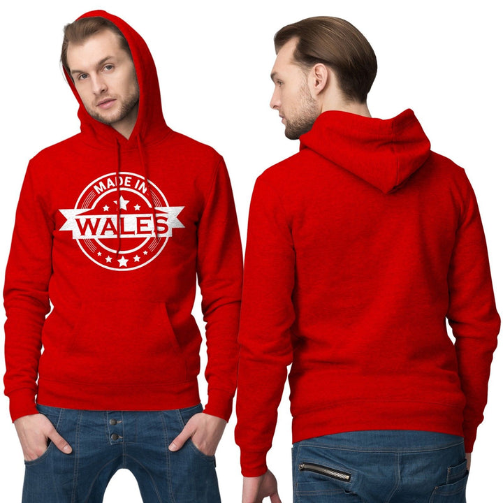 Made In Wales Hoodie Welsh Hoody Cymru Football Rugby T Shirt 868