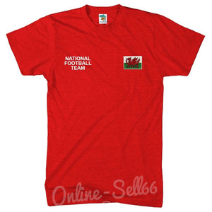 Wales National Football Team Tshirt World Cup Welsh Commonwealth T Shirt