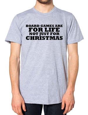 Board Games Are For Life Bot Just For Chirstmas Funny Novelty Ideas Grandparents, Main Colour Red
