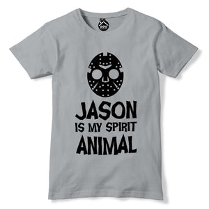 Jason Mask Halloween Tshirt Friday 13th Horror Film Movie Outfit Fancy Dress 334