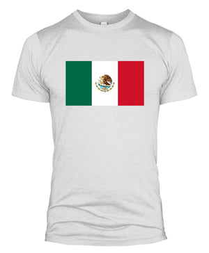 Mexico Flag T Shirt World Cup National Team Support 2018 Russia Men Women L254