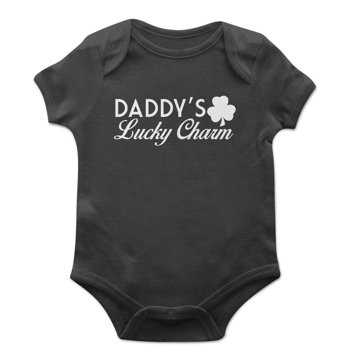 Daddy's Lucky Charm Baby Grow Kids Children St Patricks Day Ireland Vest EP23