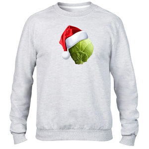 Sprout Hat Christmas Festive Jumper Sweater Funny Joke Dinner Gift Present Kids