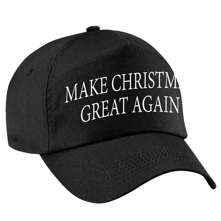 Make CHRISTMAS Great Again Cap Funny Donald Trump Hat America USA President Gift