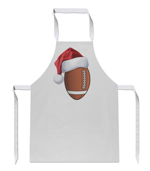 American Football Santa Hat Apron 124 Sublimation Sport Novelty Christmas Gift