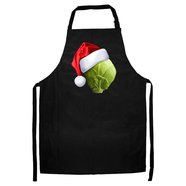 Sprout Hat Apron Funny Christmas Novelty Gift Chef Santa Helper Secret Present