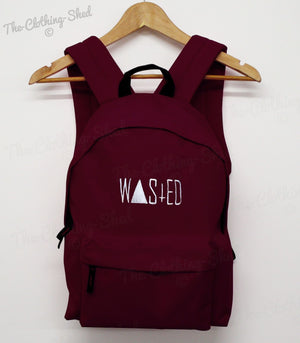 WASTED RUM BAG BACK PACK SCHOOL ASAP ROCKY SWAG DOPE HIPSTER