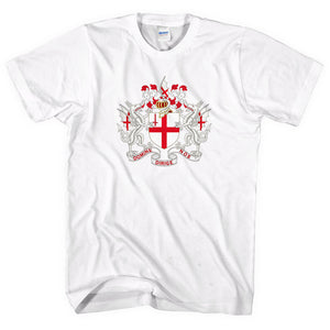 St Georges Day Coat Of Arms T-Shirt City Of London England Flag Men Women L263