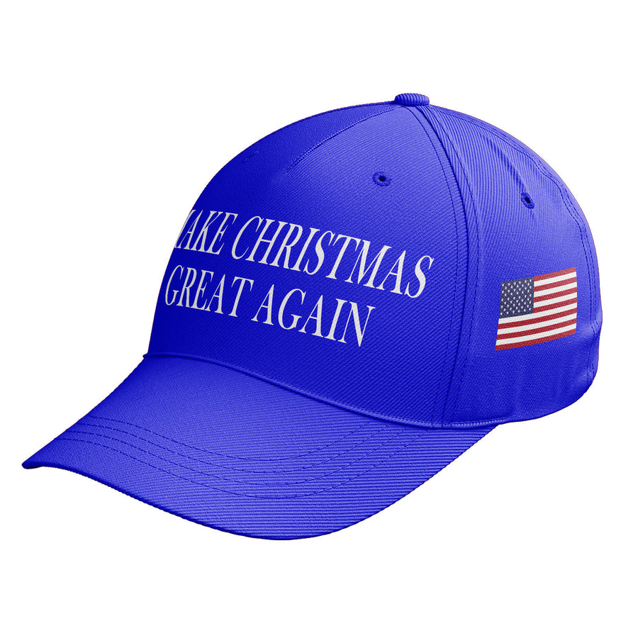 Donald Trump Make CHRISTMAS Great Again America Santa Baseball Cap Hat USA C10