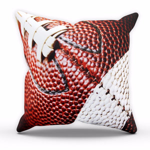 American Football Cushion NFL Ball Print Home Decor Cover Pillow Bed Linen C13