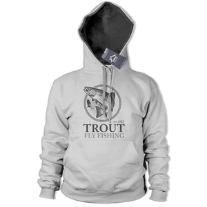 Trout Fly Fishing Hoodie Fish Trip Carp Hoody Rod Bait Angling Top 211