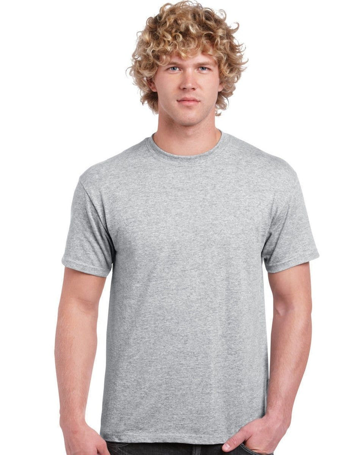 MENS GILDAN ULTRA T SHIRT PLAIN CHEAP WHOLESALE BLANK WORK TOP TSHIRT TEE CASUAL