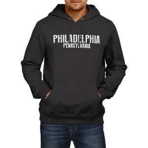 PHILADELPHIA PENNYSYLVANIA American Home State Hoodie Mens USA Womens Football