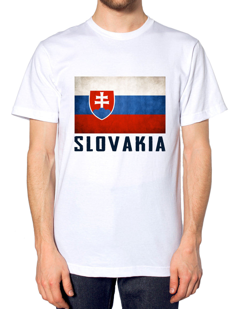 Slovakia Mens Nation Tshirt Womens Top Training T Shirt Football Sport