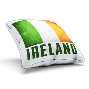 Ireland National Flag Pillow Cushion Cover Case Room Gift Country Paddy Irish