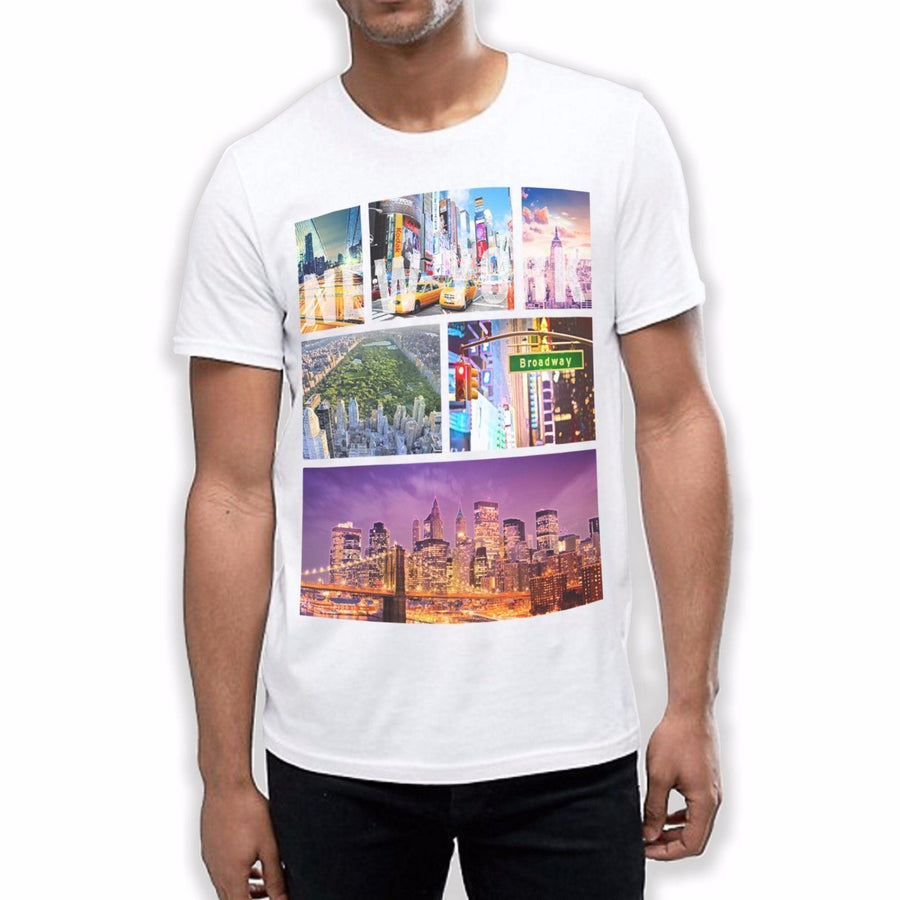 New York T Shirt NYC Empire State T Shirt Mens Fashion Holiday Summer Dope 698