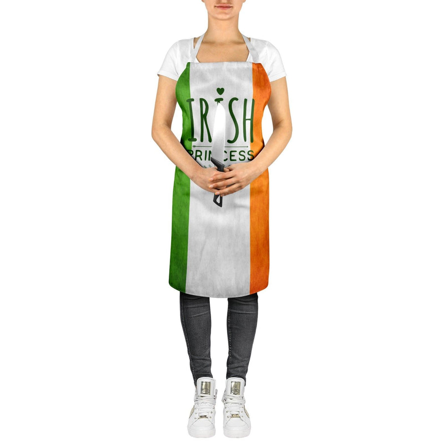 Irish Princess Cute Ladies Ireland Apron Bake Off St Patricks Day Gift Top ST106