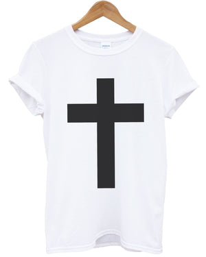 Cross T Shirt Religion Christian Urban Top Mens Kids Womens Apparel Fresh Jesus