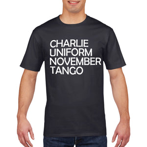 Charlie Uniform Funny Offensive T Shirt Rude Gift Fathers Day Birthday 738