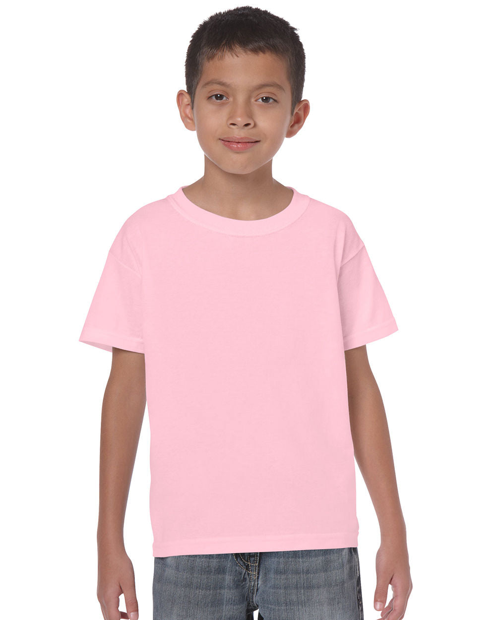 7d9e572931f2 Boys Girls Plain Unisex Tshirt School Uniform Top T Shirt All Sizes Colours  NEW