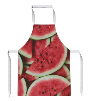 Watermelon All Over APRON Fresh Fruit Healthy Diet Chef Cooking Vegetables Gift