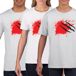 Born to Kill Zombies T Shirt Apocalypse Blood Halloween Outfit Fancy Dress H6